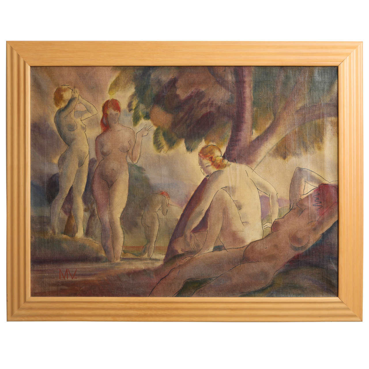 Bathing Nudes, 1938 For Sale