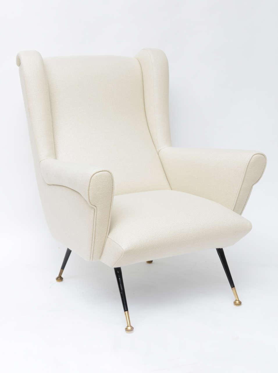 Mid-Century Italian Lounge Chair 2