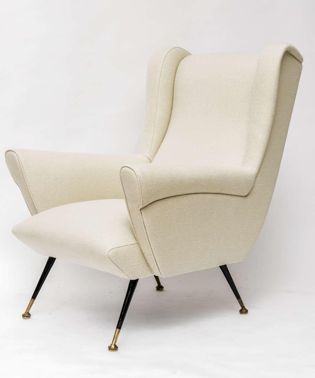 Mid-Century Italian Lounge Chair 4