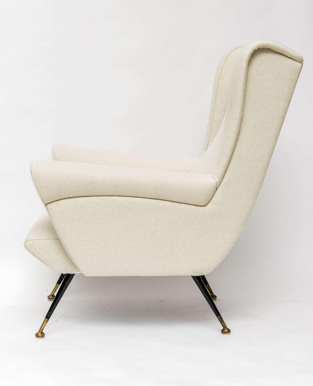 Mid-Century Italian Lounge Chair 5