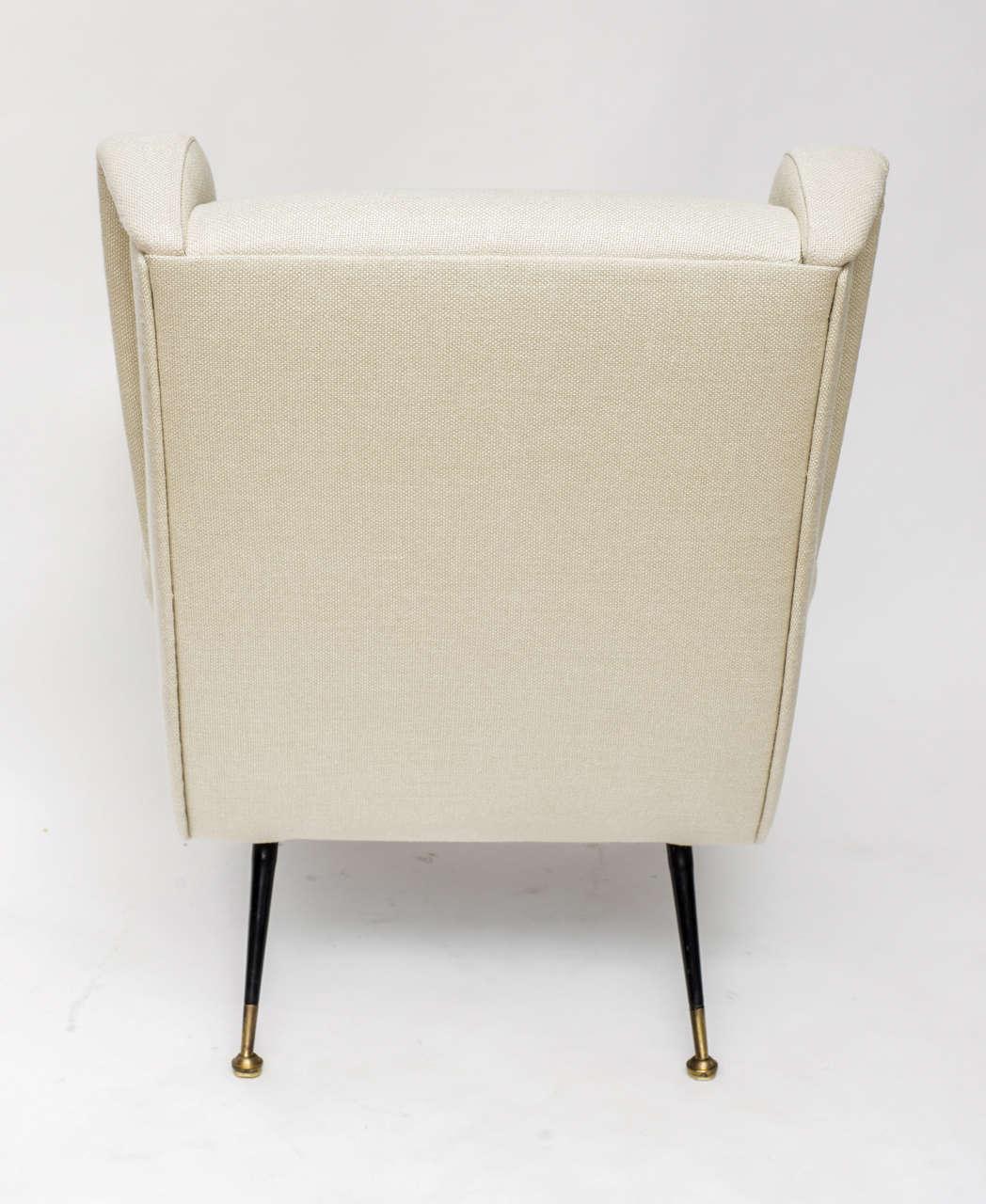 Mid-Century Italian Lounge Chair 7