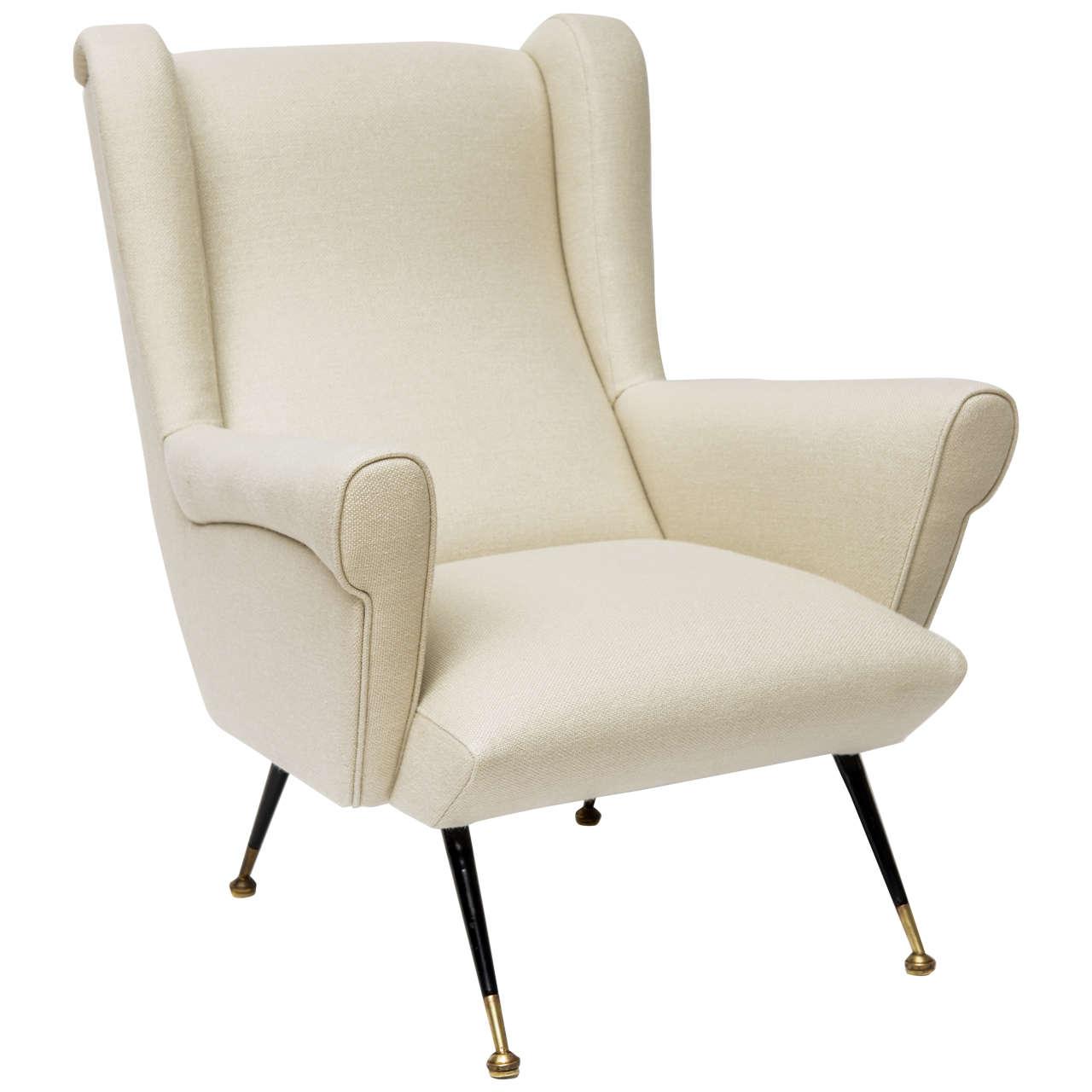 Mid-Century Italian Lounge Chair 1
