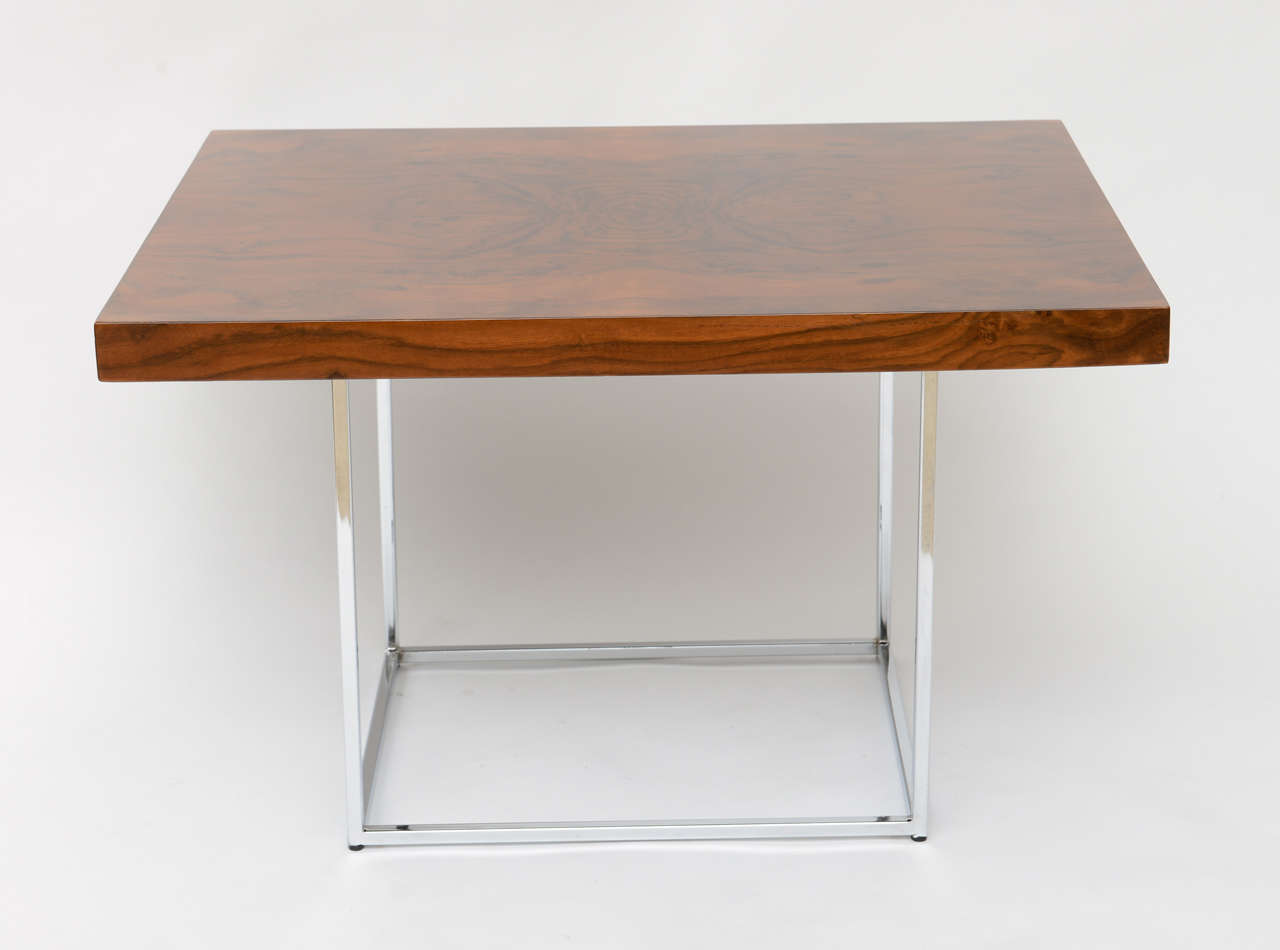 Milo Baughman Rosewood Coffee Side Table For Sale At 1stdibs