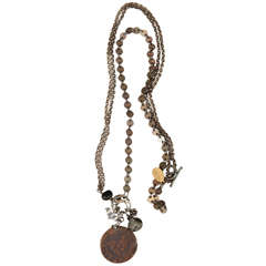 Ille St. Louise coin necklace