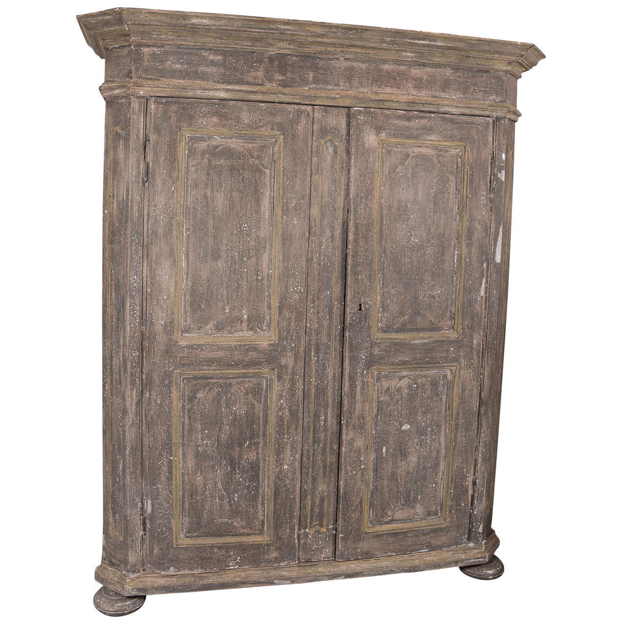 18th c rustic northern european armoire at 1stdibs. Black Bedroom Furniture Sets. Home Design Ideas