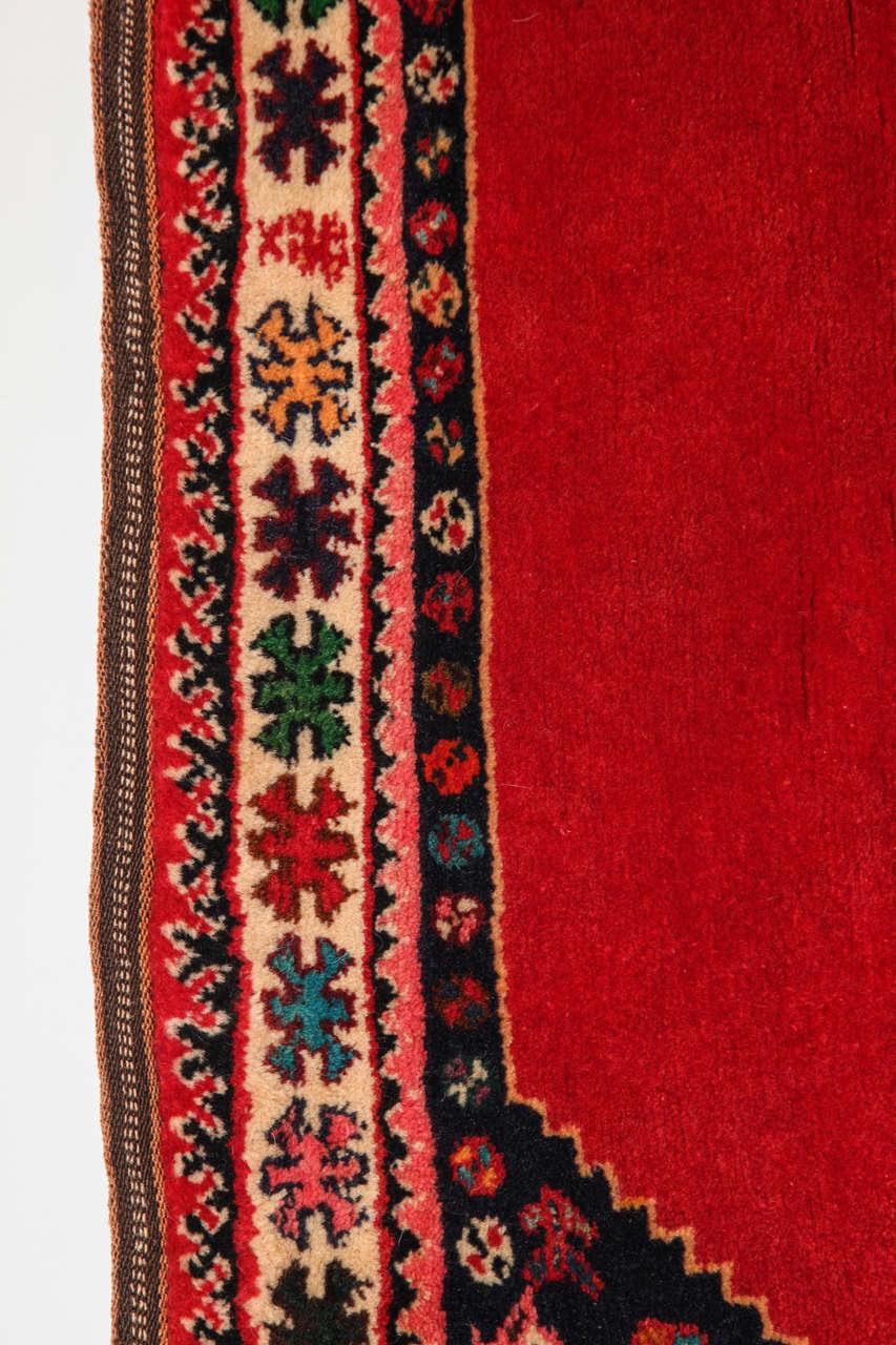 Persian Qashqai Carpet, circa 1940 with Handpsun Wool and Natural Vegetable Dyes 2