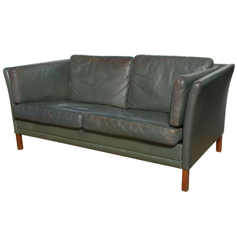 Borge Mogensen Love Seat For Sale