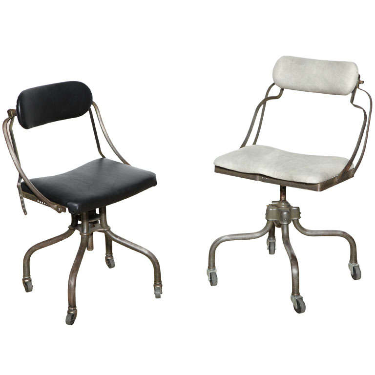 2 1930 S Remington Sitwell Typewriter Chairs At 1stdibs