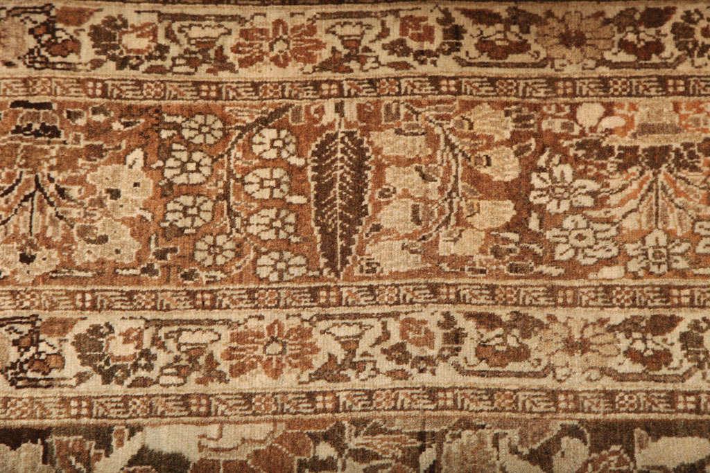 1870 Persian Haji Jalili Tabriz Carpet with Tree of Life Design For Sale 1