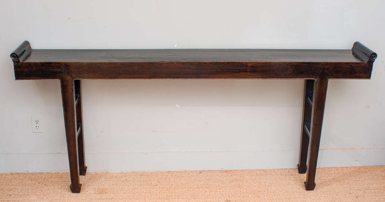 18th Century Long and Narrow Chinese Console Table at 1stdibs