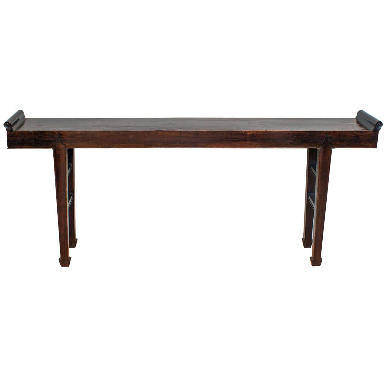 Narrow Console Table : 18th Century Long and Narrow Chinese Console Table at 1stdibs