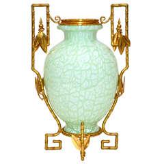 """Gorgeous Vase """" art nouveau """""""