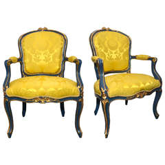 Pair of Venitian Armchairs