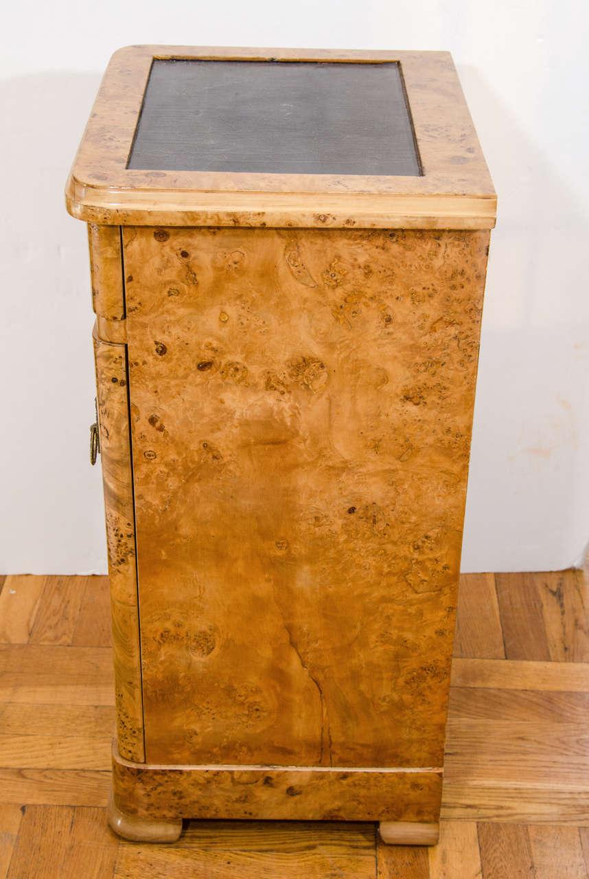 20th Century Art Nouveau Birch Nightstands For Sale
