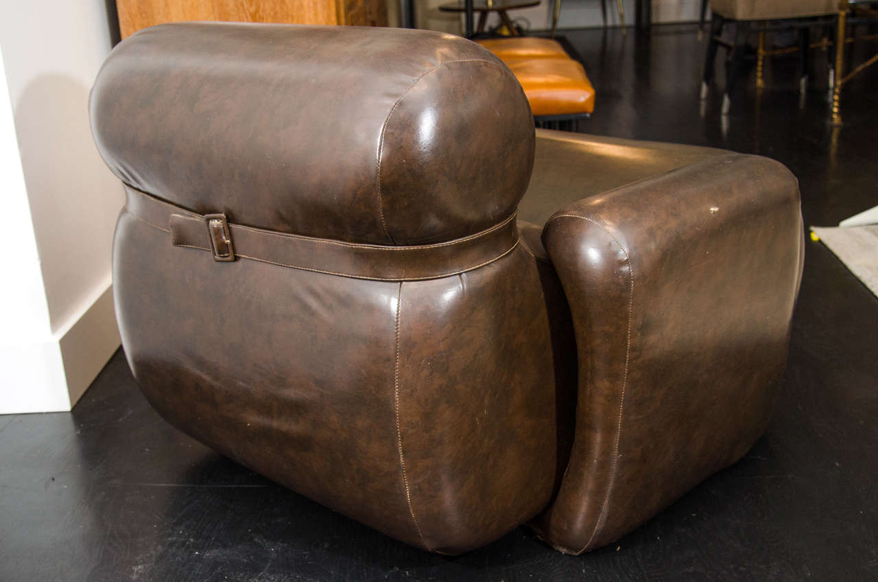 20th Century Injected Foam Lounge Chair For Sale