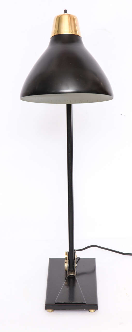 Mid-20th Century 1950s Articulated Table Lamp For Sale