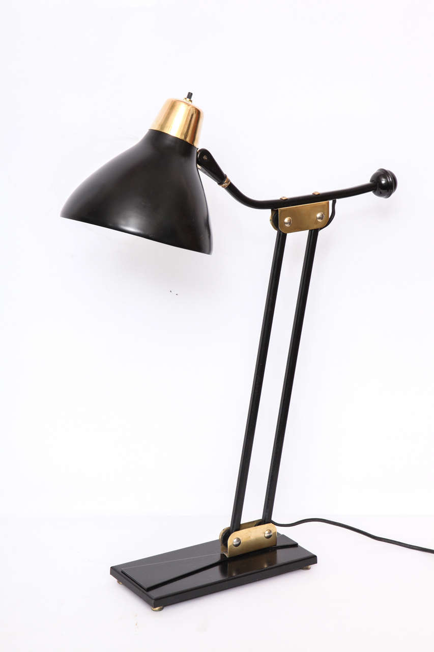 1950s Articulated Table Lamp For Sale 1