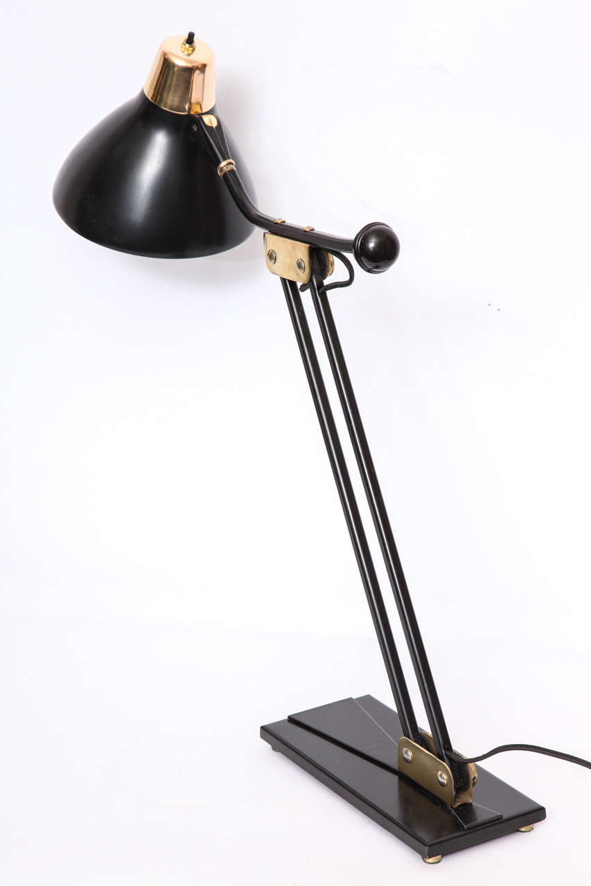 1950s Articulated Table Lamp For Sale 3