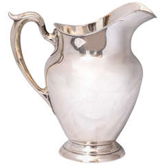 Mid-Century Sterling Silver Pitcher