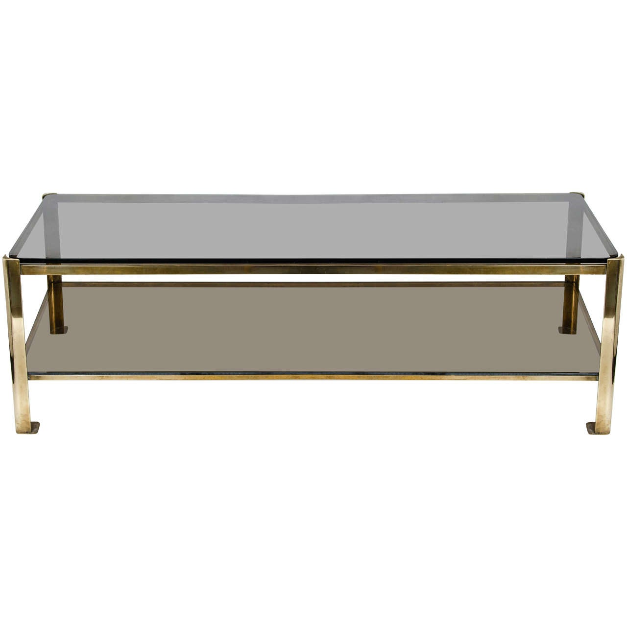 1950s French Jacque Quinet Coffee Table II
