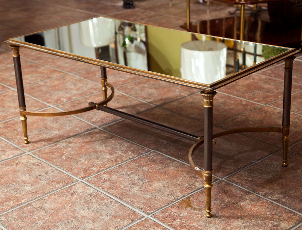 Maison jansen bronze coffee table at 1stdibs Bronze coffee tables