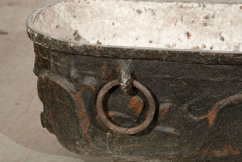 Chinese cast iron tub at stdibs