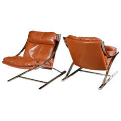 Paul Tuttle 'Zeta' Lounge Chairs