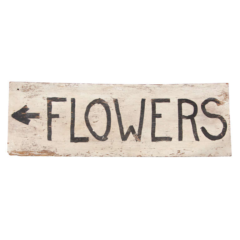 Farm Stand Sign Flowers For Sale