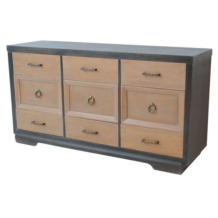 Wenge and cerused 1940 39 s sideboard at 1stdibs - Sideboard wenge ...