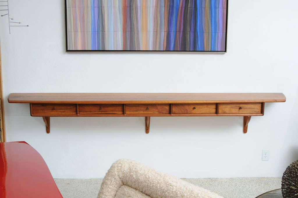 Rare Sam Maloof Hanging Cabinet For Sale 3