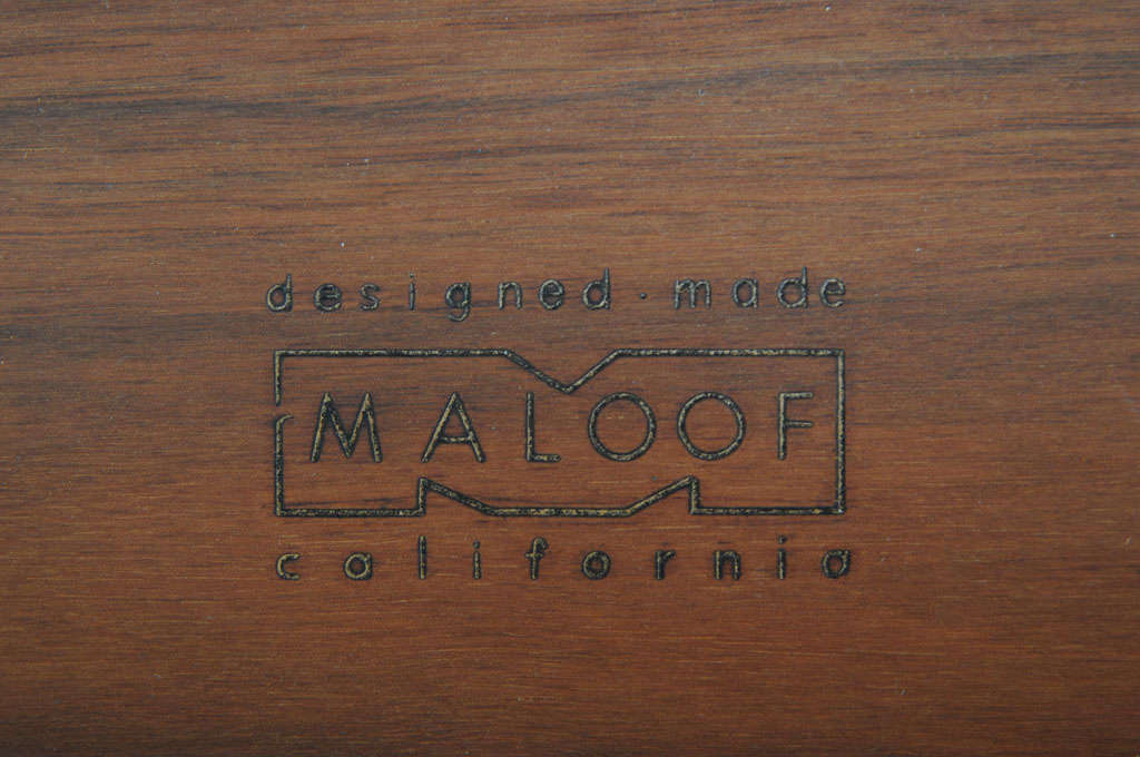 20th Century Rare Sam Maloof Hanging Cabinet For Sale