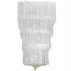 Chandelier in Murano Glass, Square Form