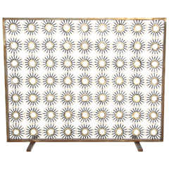 "Marie Suri ""Aster"" Fire Screen"