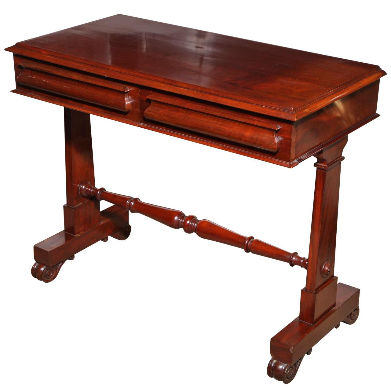 Mid 19th Century English, Mahogany Hall Table