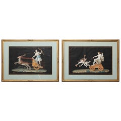 Pair of 19th Century Gouache