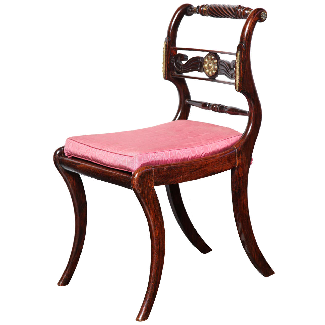 Home Decor Antiques 19th Century English Regency Chair At 1stdibs