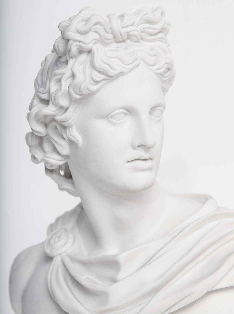 19th Century Art Union of London Bust of Apollo 3