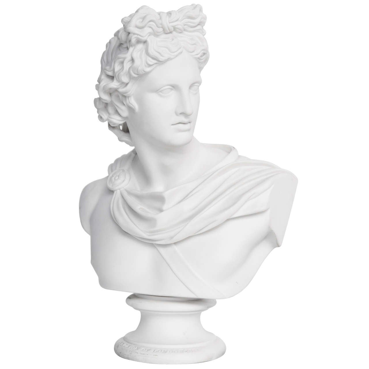 19th Century Art Union of London Bust of Apollo For Sale