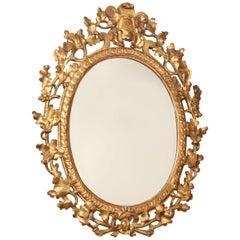 Mid-19th Century English Gilded Mirror