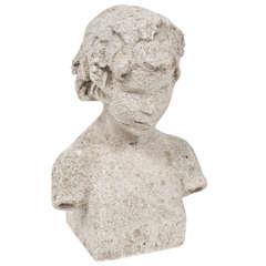 Limestone Bust