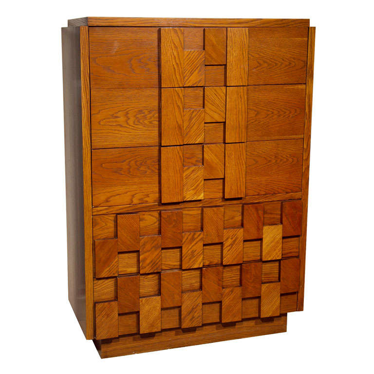 Paul Evans Style Chest of Drawers from Lane Furniture at
