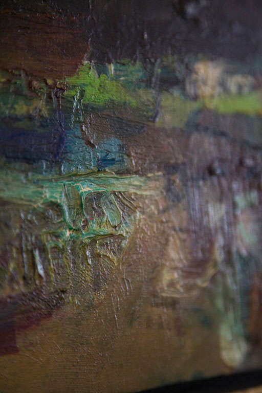"""""""Wyoming"""" Oil on Canvas by Robert Frame 4"""