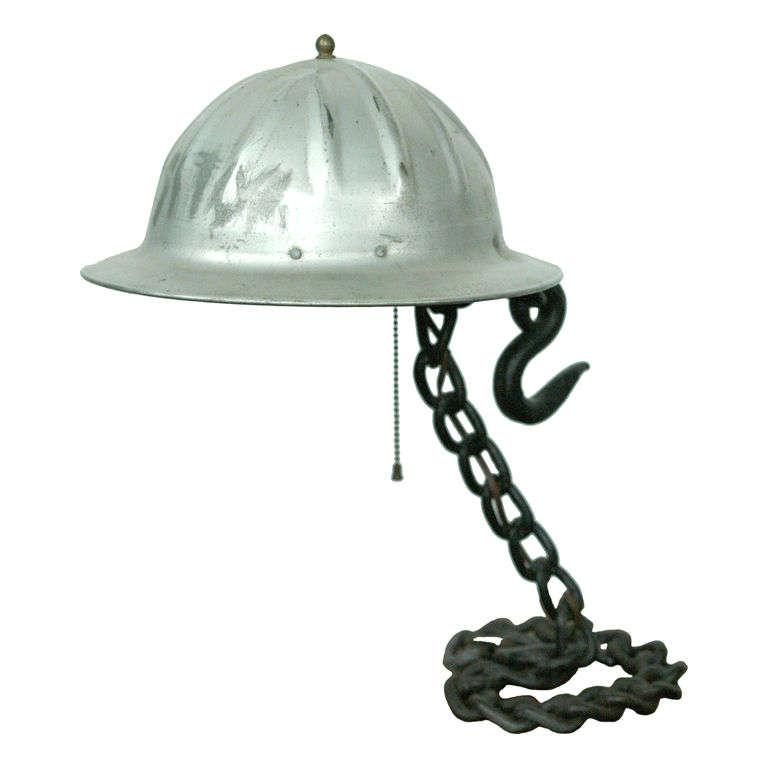 Industrial Helmet Lamp At 1stdibs