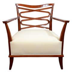 Fine Armchair by Léon Bouchet