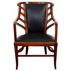 Art Nouveau Armchair In the Manner of Henry van de Velde