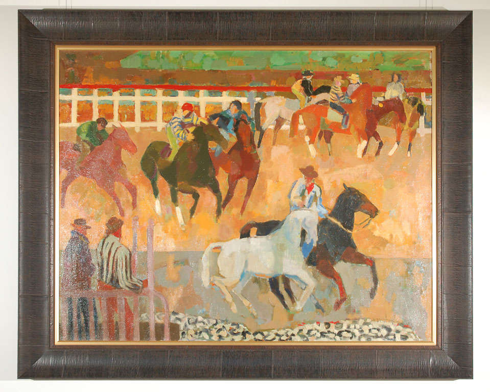 A beautiful oil painting by Susan Lautman Hertel titled