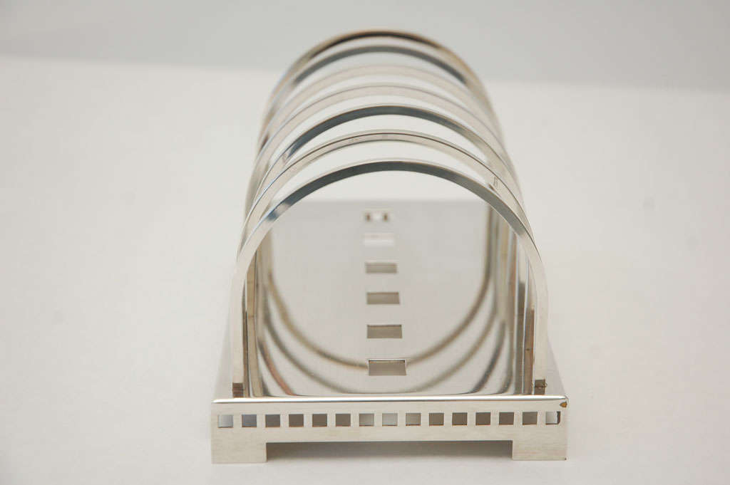 Silver Plate Desk Set by Richard Meier for Swid Powell image 6