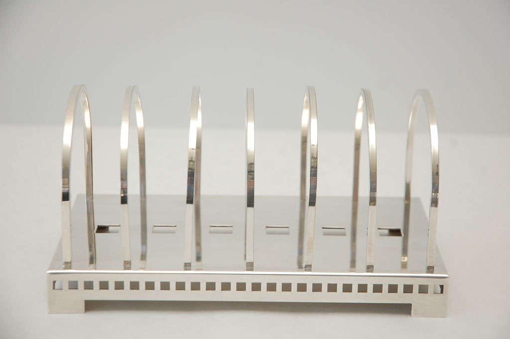 Silver Plate Desk Set by Richard Meier for Swid Powell image 7