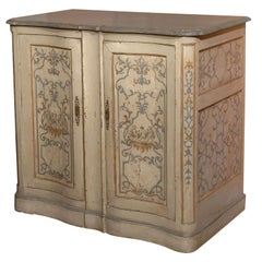 19th Century Paint Decorated French Buffet