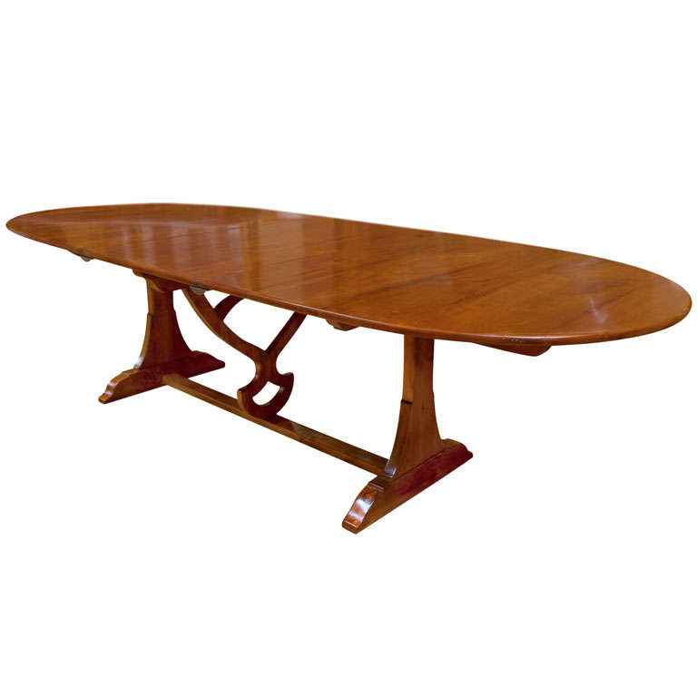 Blonde cherry wood Table de Vigneron Table at 1stdibs : X from 1stdibs.com size 768 x 768 jpeg 25kB